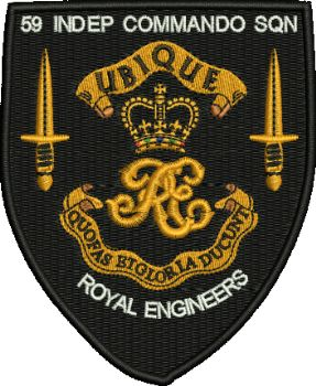 59 Ind Commando Sqn Embroidered badge